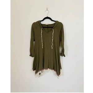 Altr'd State Hooded Tunic + Green